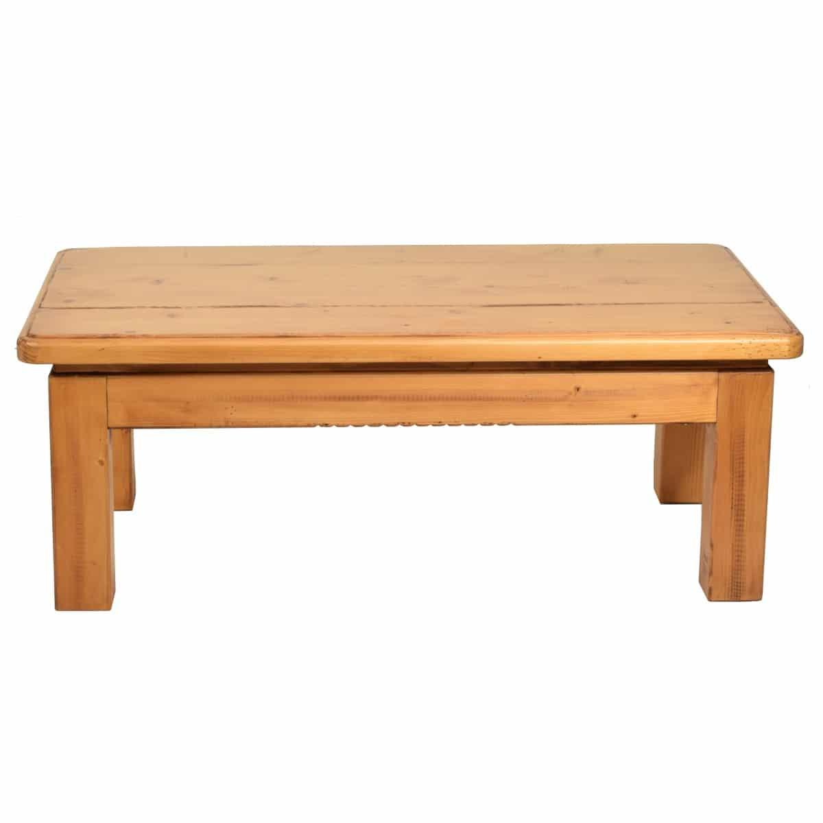 Mesa centro r stica patas de madera ecor stico venta de - Patas de mesa de madera ...