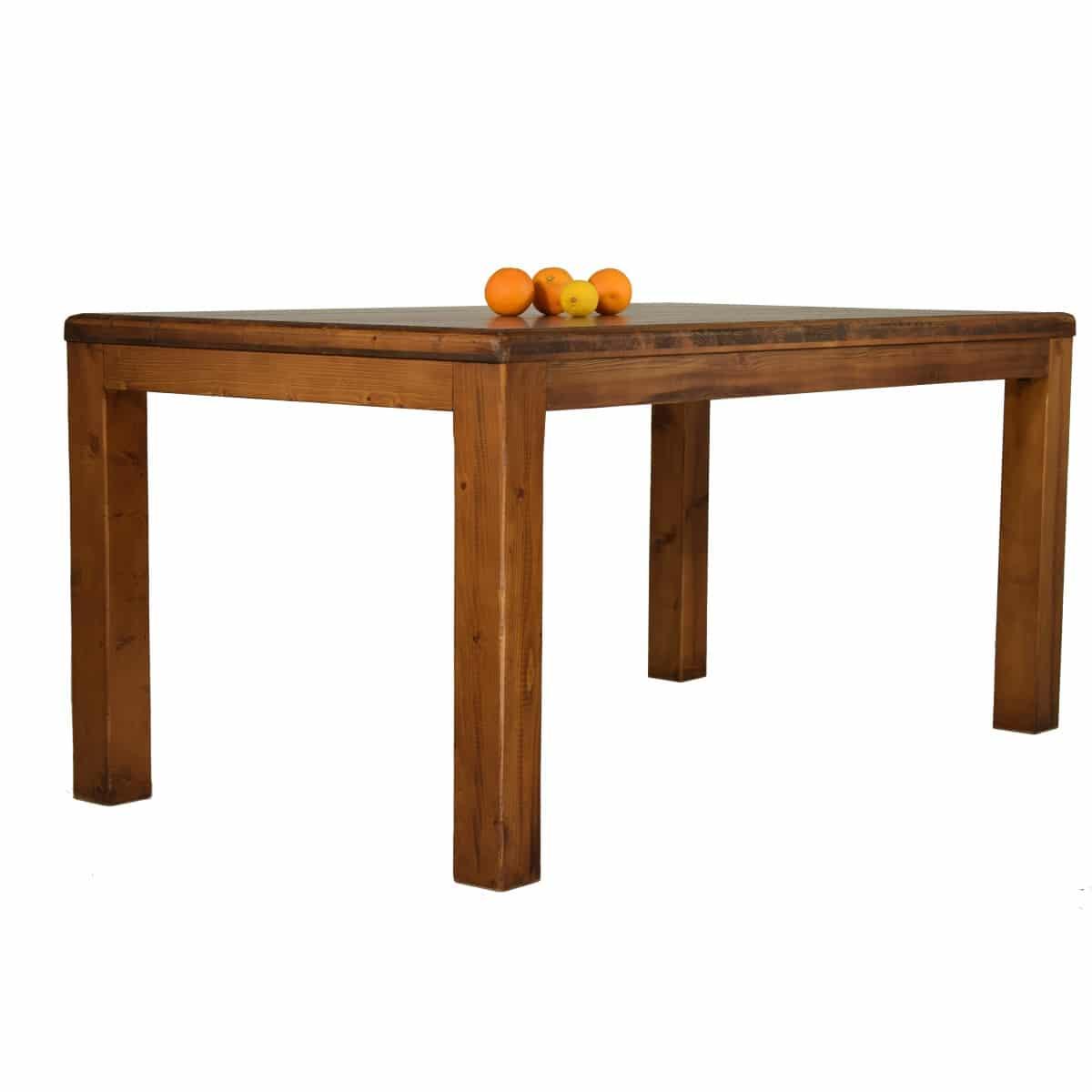 Mesa comedor r stica fija en varias medidas ecor stico - Medidas mesas comedor ...