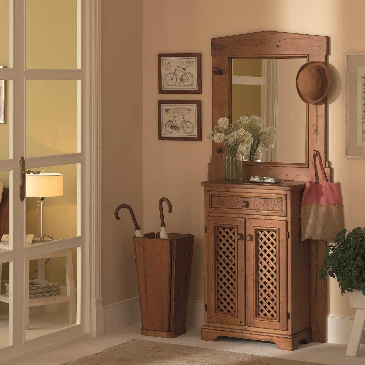 Recibidor r stico con puertas ecor stico venta de muebles - Recibidor con armario ...