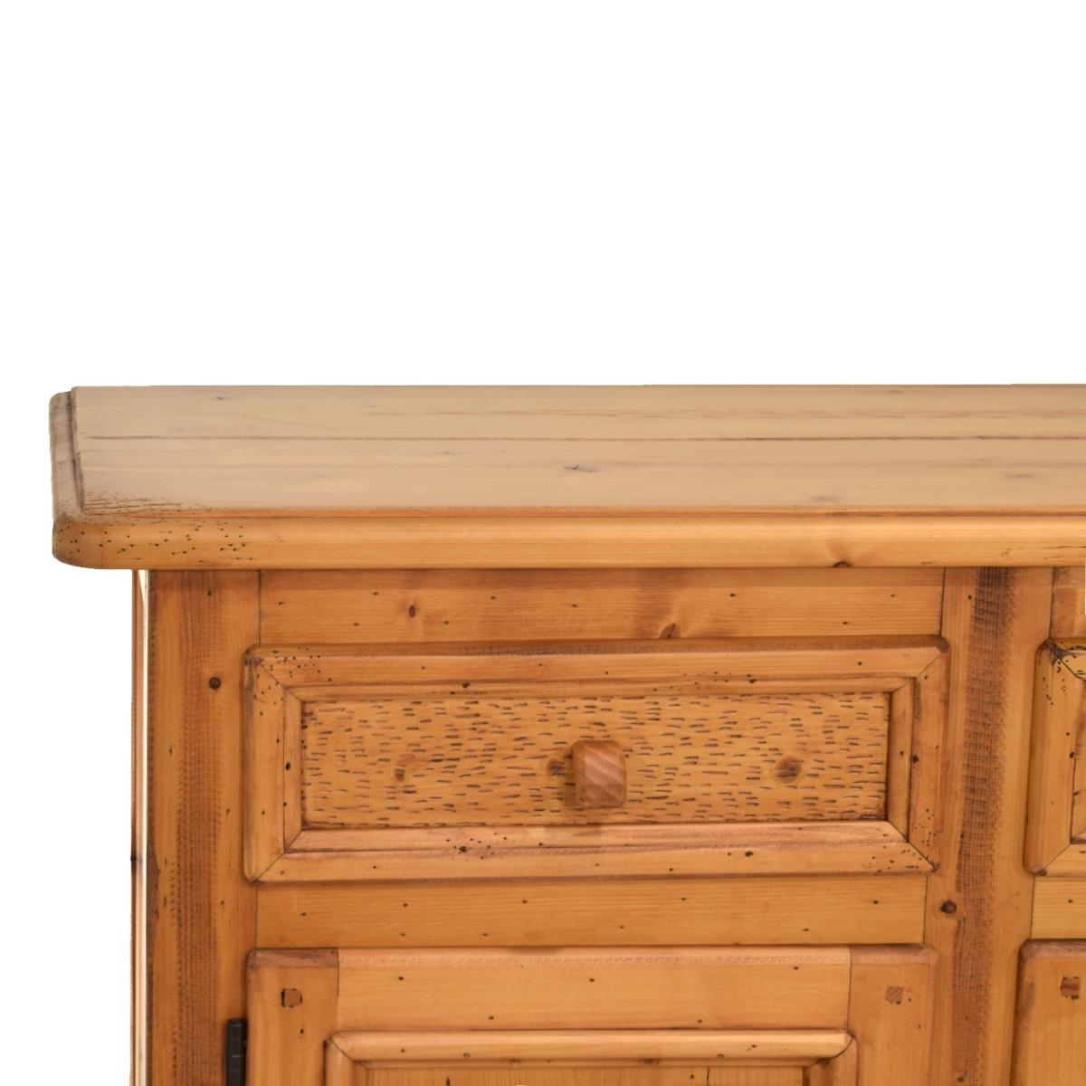 Aparador Verona Jysk ~ Aparador rústico de madera 159cm Ecorústico venta de muebles