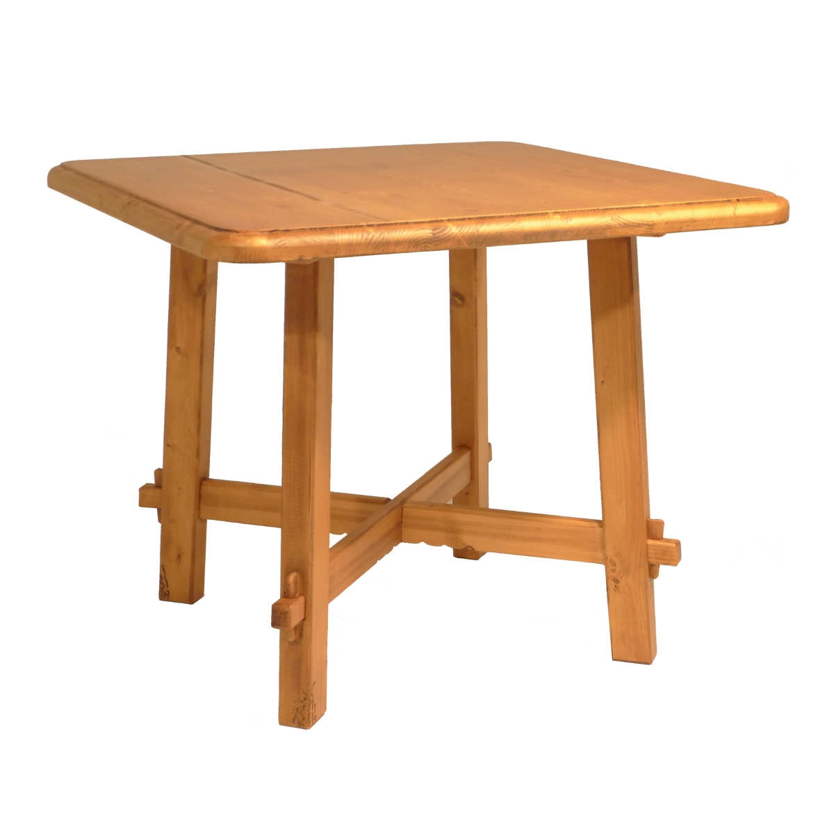 Mesa comedor cuadrada r stica ecor stico venta de muebles for Mesa cuadrada
