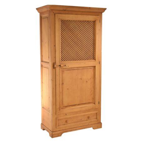 Armario recibidor rústico de madera