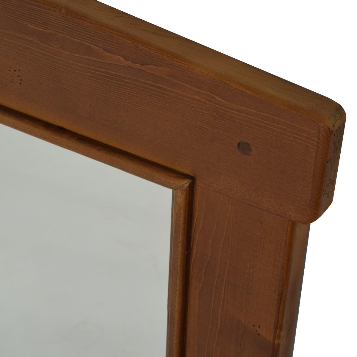 Espejo r stico rectangular mediano ecor stico venta de for Espejo rectangular
