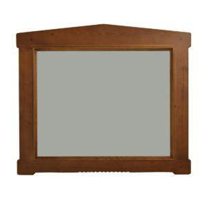 Espejo rústico rectangular mediano