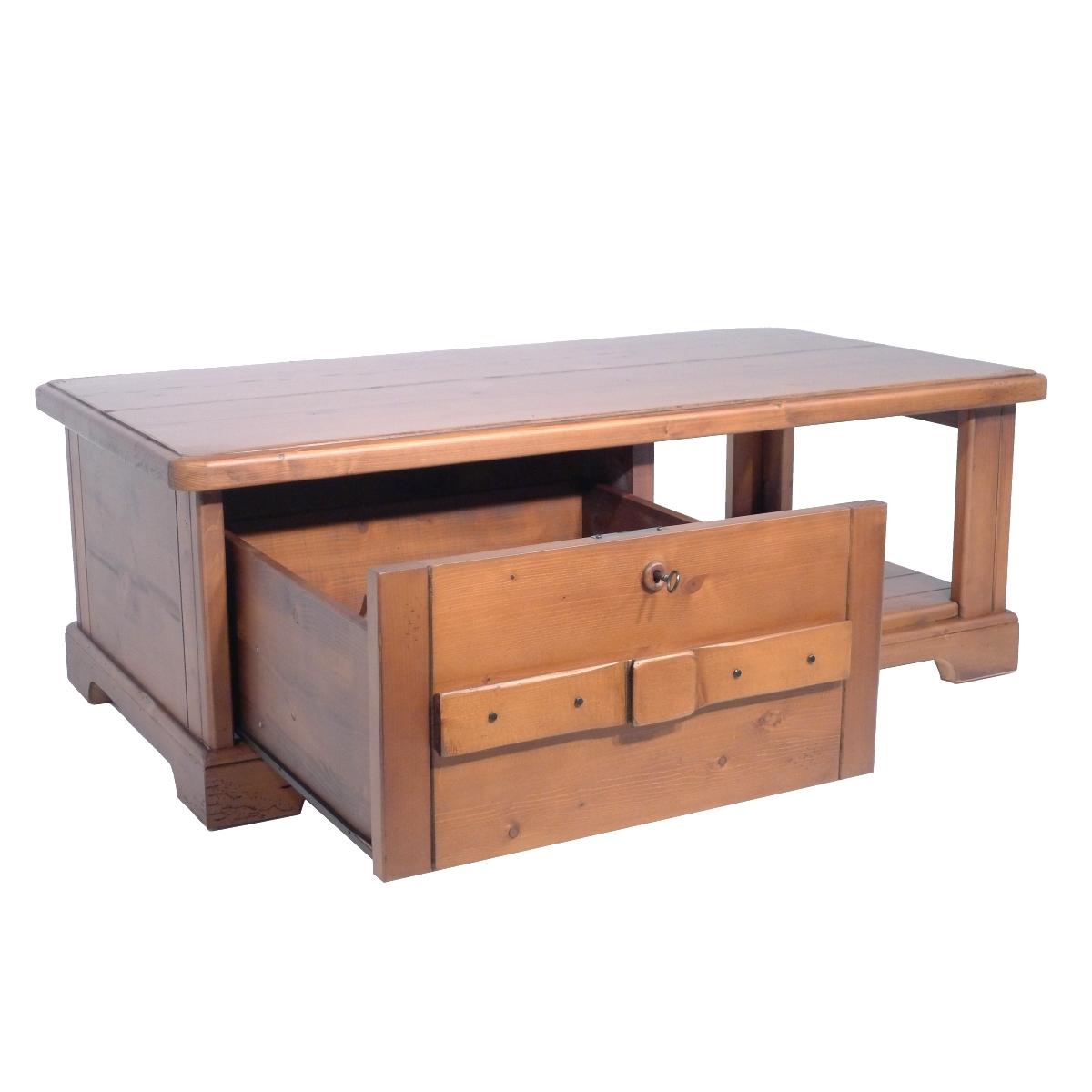 Mesa Centro R Stica Rectangular Caj N Ecor Stico Venta De Muebles # Muebles Sostenibles