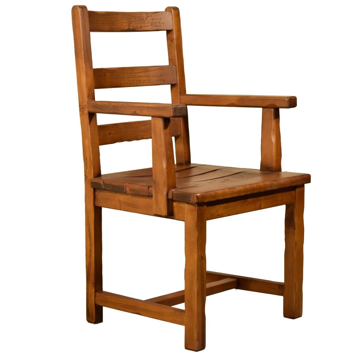 Sill n r stico bajo asiento de madera ecor stico venta for Sillon para exterior madera
