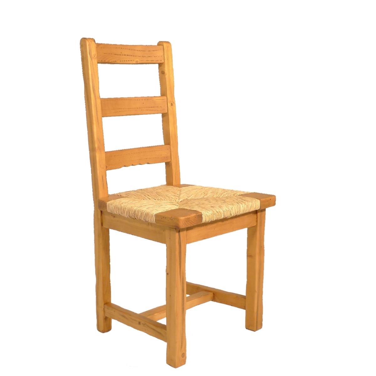 Silla baja r stica asiento anea natural ecor stico venta online muebles de madera - Sillas rusticas ...