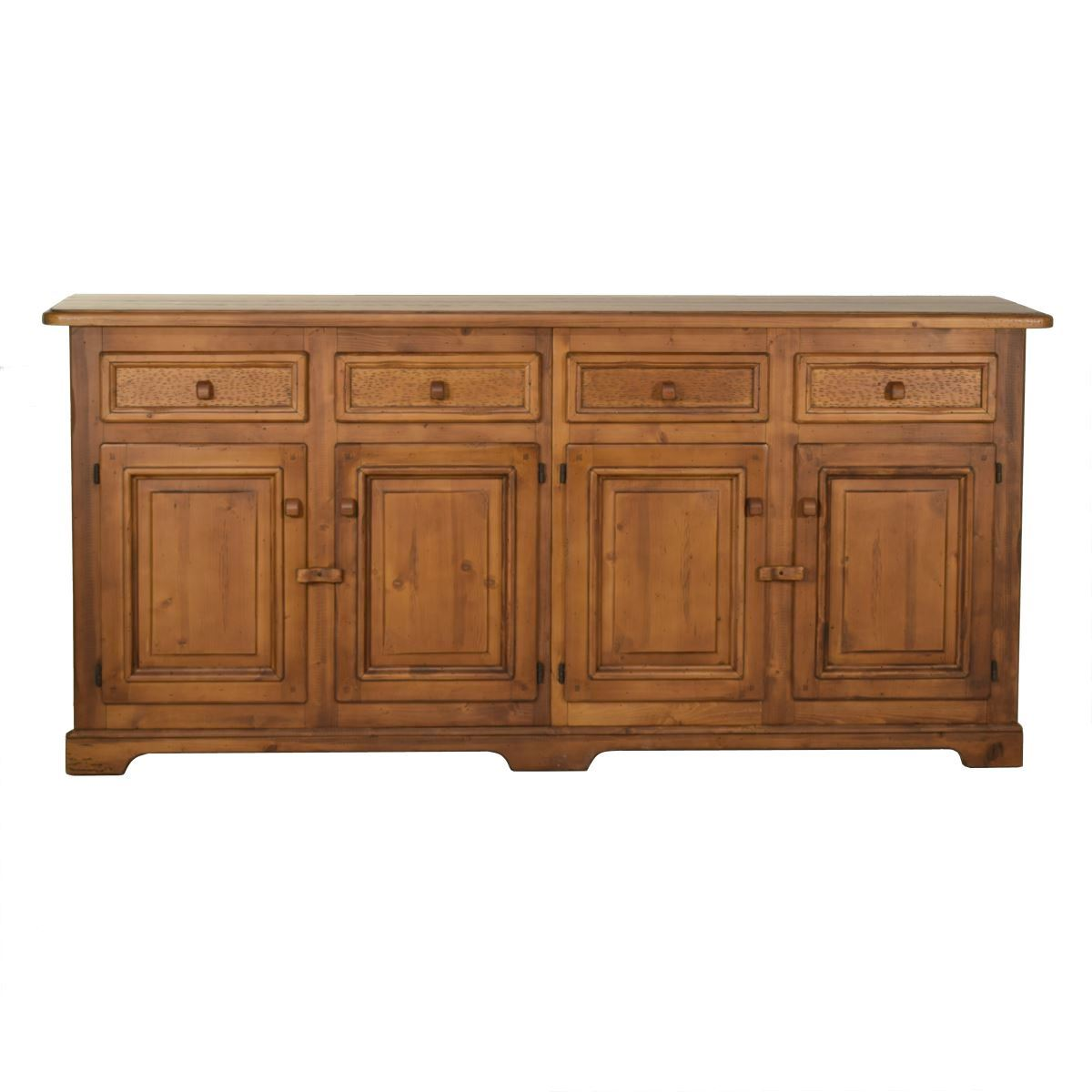 Aparador Verona Jysk ~ Aparador rústico de madera 207cm largo Ecorústico venta de muebles