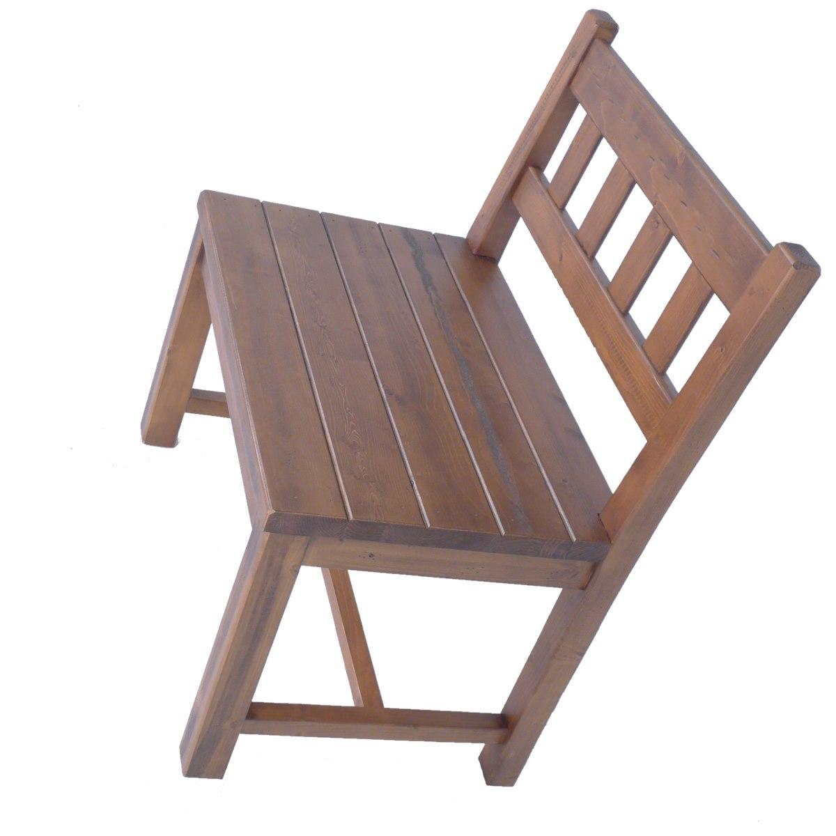 Banco R Stico 75cm De Alto En Madera Ecor Stico Venta De Muebles # Alto Vuelo Muebles
