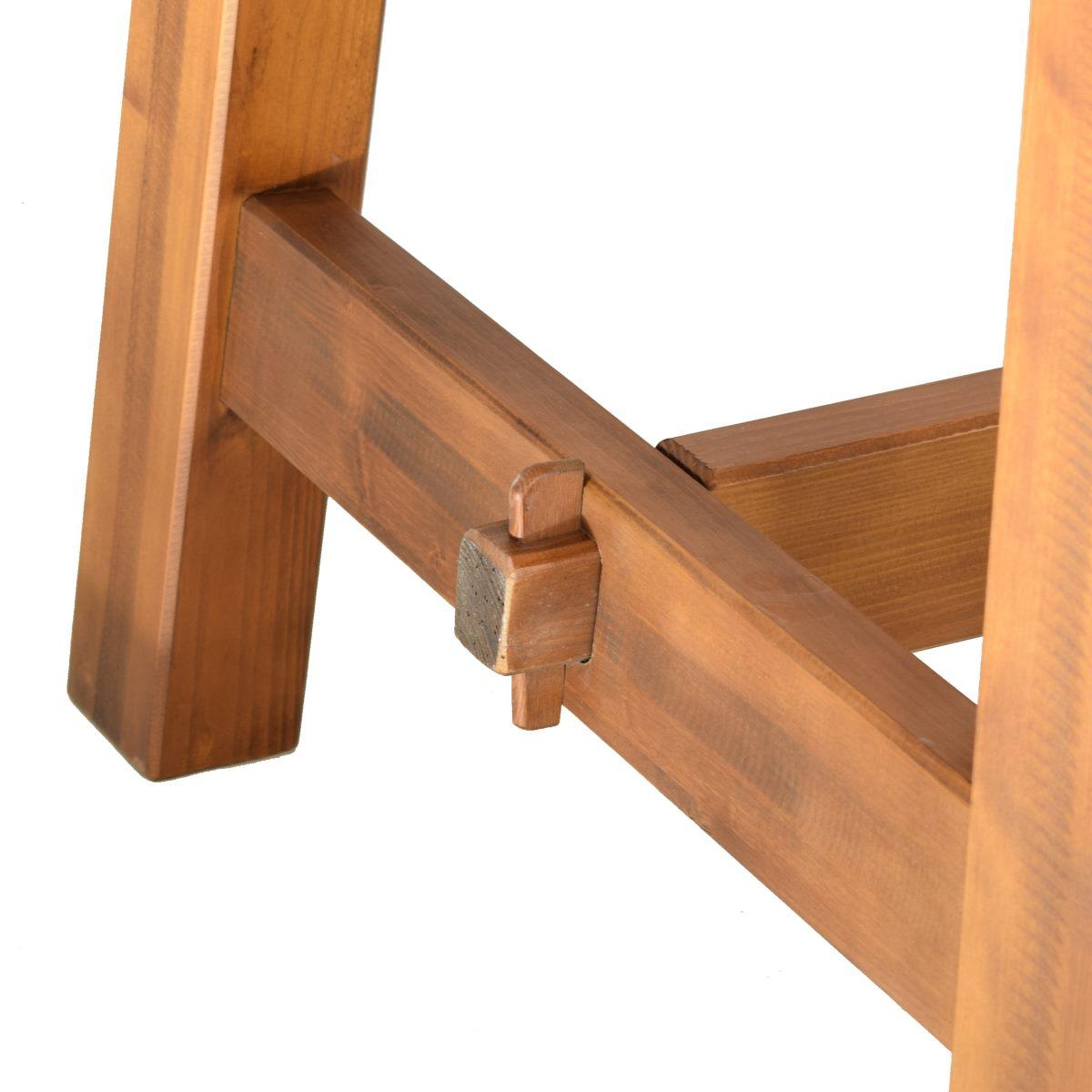 Mesa rectangular r stica 200cm ecor stico venta de muebles - Mesa rectangular ...