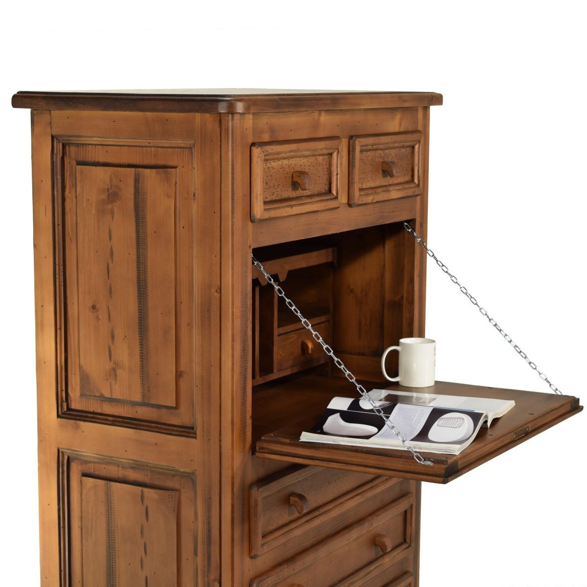 Escritorio Secreter R Stico De Madera Ecor Stico Venta De Muebles # Muebles Secreter