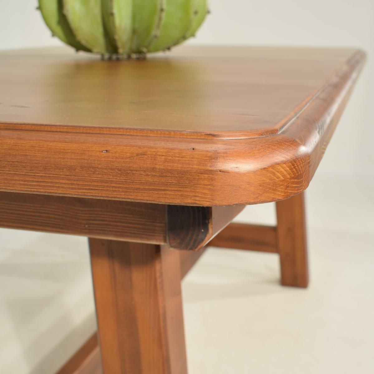 Mesa r stica 160 extensible ecor stico venta de muebles - Mesa auxiliar extensible ...