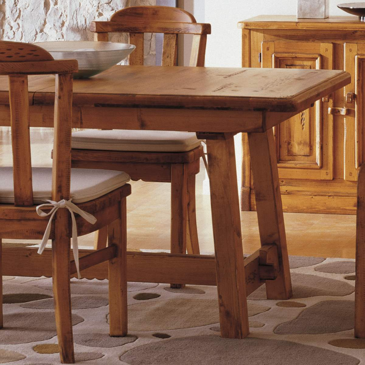 mesa r stica 160 extensible ecor stico venta de muebles