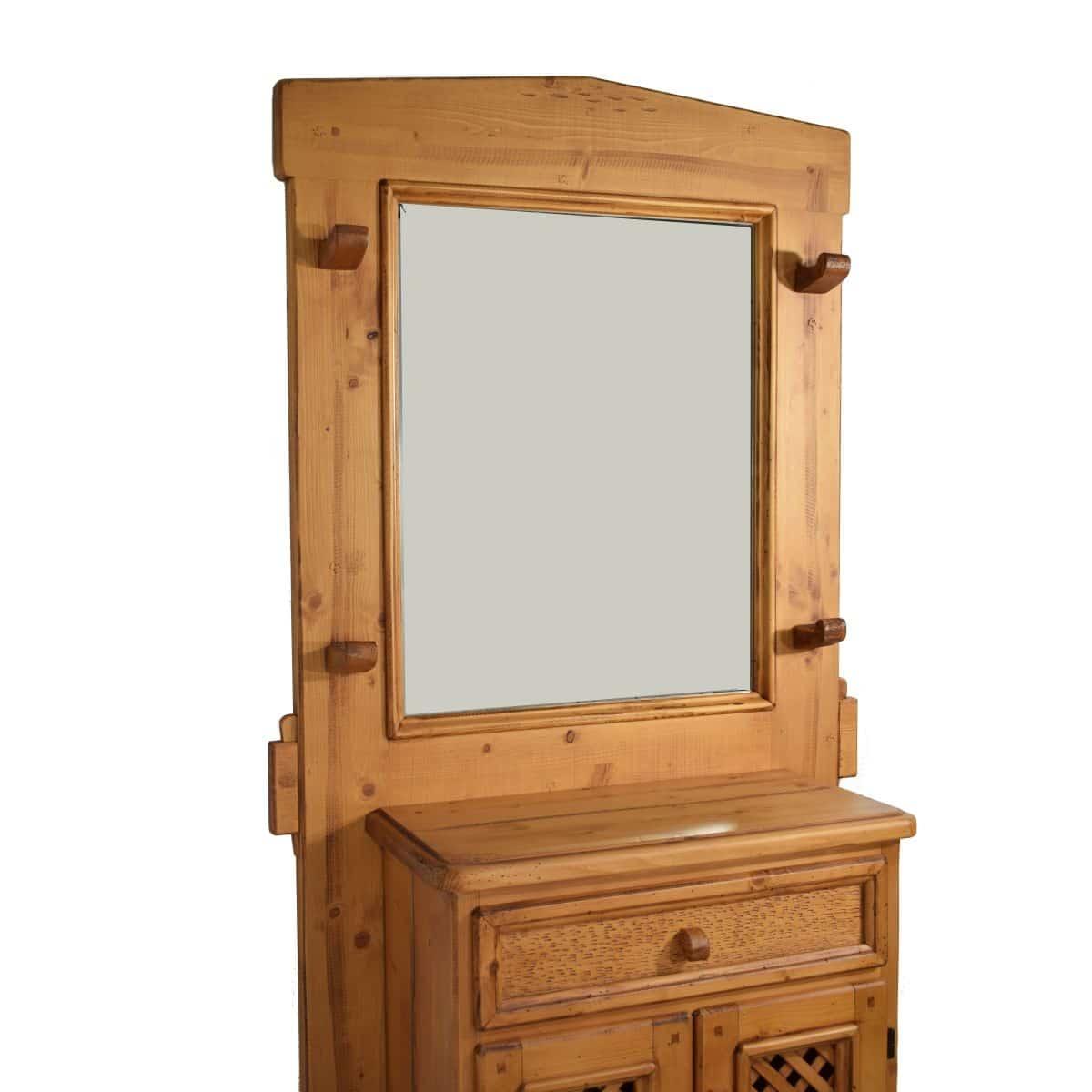 Recibidor r stico con puertas ecor stico venta de muebles - Muebles percheros entrada ...